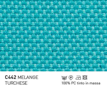 C442-MELANGE-TURCHESE